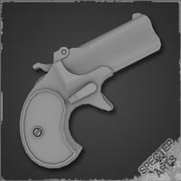 gambler pistol derringer 3ds