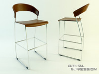 3d model place chair