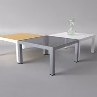 small table 3d c4d