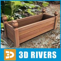 3d planter flowerpot