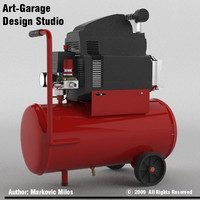 air compressor 3d 3ds