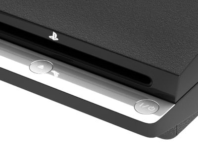 3d new sony ps3 slim model - Sony PS3 Slim... by PK3DStudio