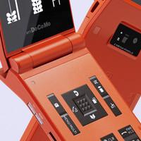 3d model mobile phone n705i japan
