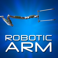 robotic arm 3d ma
