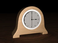Simple Modern Bedroom Clock