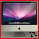 Apple iMac 24 3D models