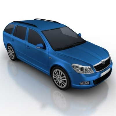 3d vehicle car model