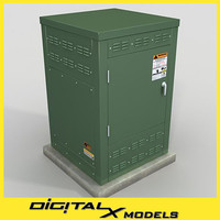 rooftop Electric Box 1