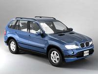 x5 4x4 5 3d model