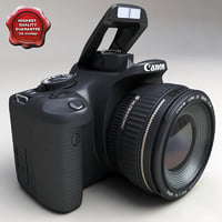 3ds max canon eos450d modelled