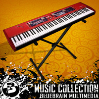 music keyboard 3d 3ds