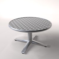 chrome table c4d