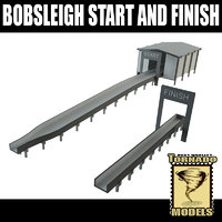 lightwave bobsleigh start finish