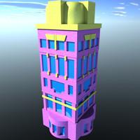 free apartments x-com 3d model