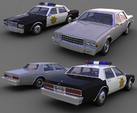 3d model chevrolet caprice versions cars