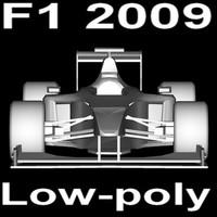 3ds max formula 1 car
