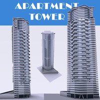 3d apartment tower