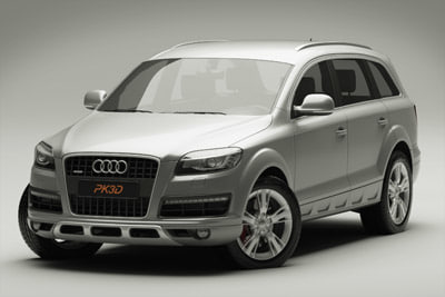 3ds audi q7 2010 - Audi Q7 2010... by PK3DStudio