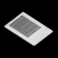 ebook kindle 3d model