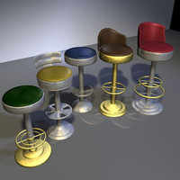 Bar Stool Collection 01
