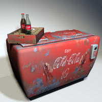 Cola Cooler Retro 01