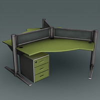 max modern office table