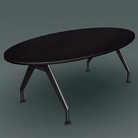 modern design desk 3d max