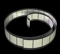 c4d movie filmstrip zipped