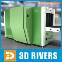 security x-ray systems 3d 3ds