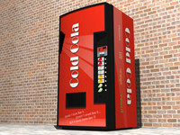 Cold Cola Vending Machine
