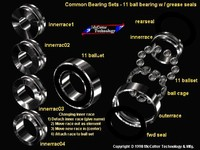 machine ball bearing industry 3d model