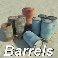 Truax_Studios Barrels