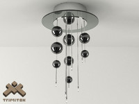 3d bubbles 6plp lamp