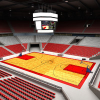 Basketball Arena Multicourt