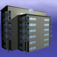 appartment 3d model