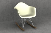 maya eames plastic chair rockers
