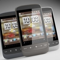 3d htc touch2 model