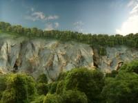 c4d landscape forest