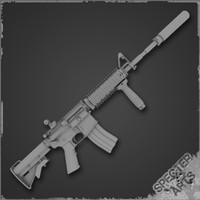 M4a1 SOPMOD Block I Base