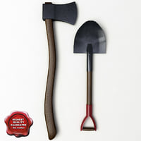 Shovel and Axe