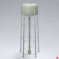 water tower dxf