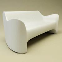tokyo pop sofa 3d model