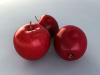 3ds max photorealistic apple
