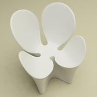 3d clover chair