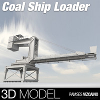Coal ship loader
