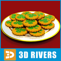 Shamrock cookies by 3DRivers