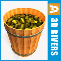 Cucumber barrel by 3DRivers