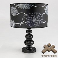 3d luxury desk lamp model