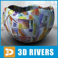 planter flowerpot 3d 3ds