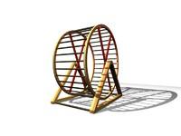3d max hamster wheel